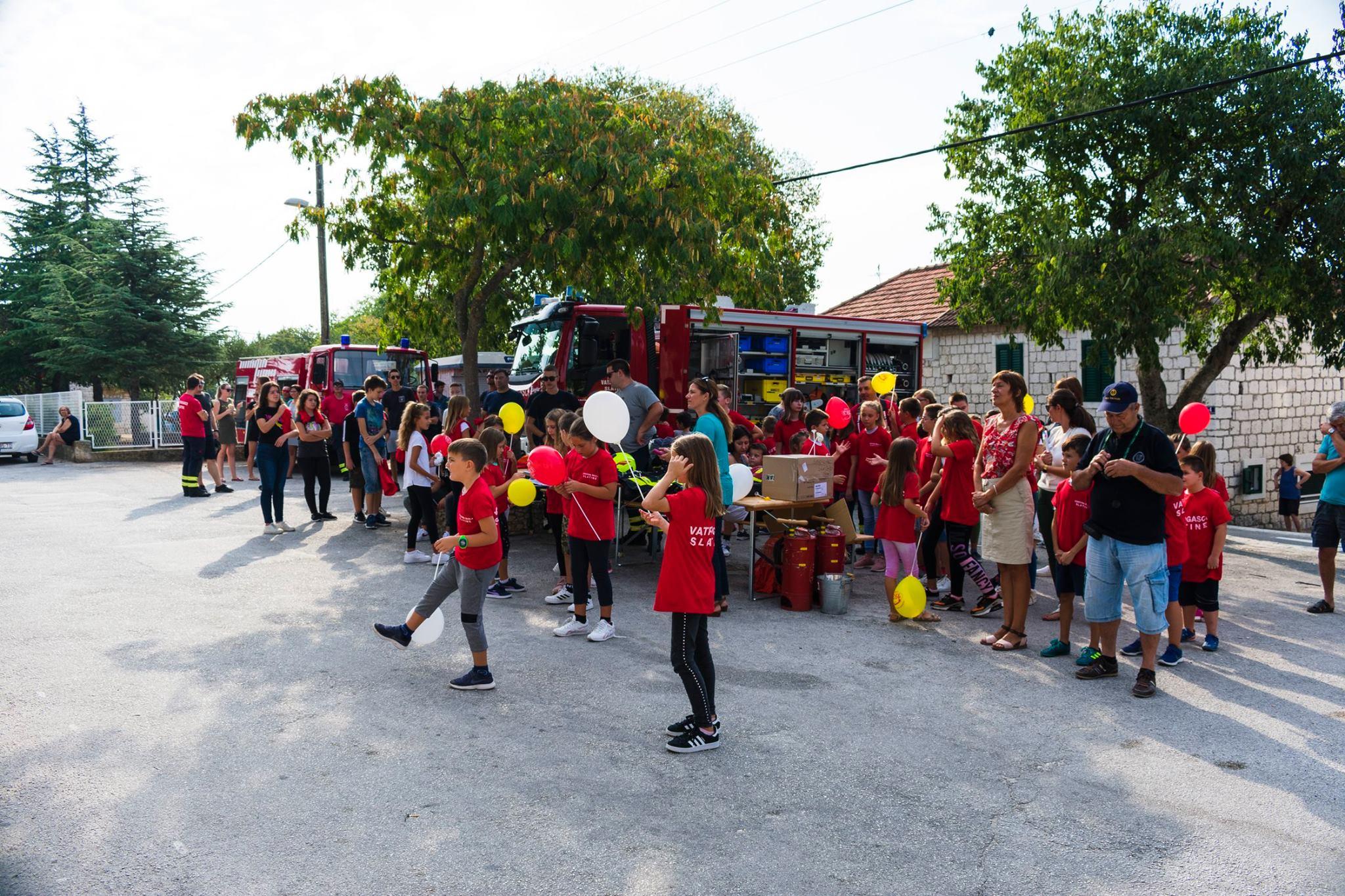 Dan otvorenih vrata Dobrovoljnog vatrogasnog društva Slatine